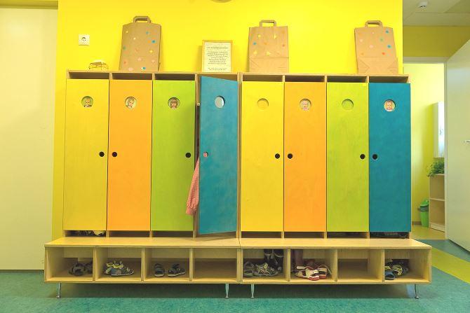 Купить шкафы для детских садов по низкой цене в москве без п.