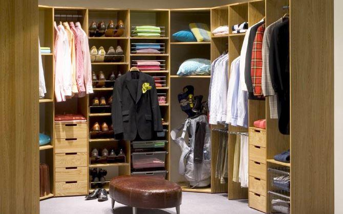 Изготовление гардеробных на заказ по индивидуальным размерам.